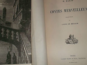 Contes HAUFF W.HESSEM  Contes merveilleux  + le testament du duc Job