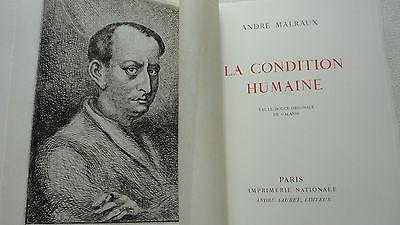 Malraux, André La Condition Humaine illustré par Galanis