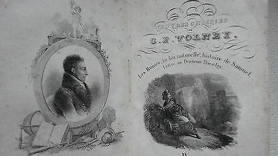 VOLNEY Oeuvres choisies de Volney 1833
