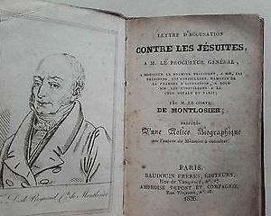 Lettre d'accusation contre les Jésuites à M. le procureur général, 1826