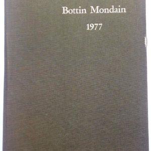 BOTTIN MONDAIN 1977