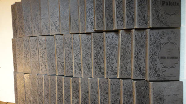 littérature ENSEMBLE 48 volumes GIRARD ET A. BOITTE / MARPON ET FLAMMARION