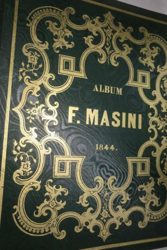 ALBUM DE F. MASINI 1844 lithographies, Nanteuil