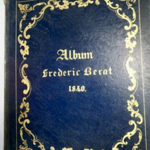 ALBUM FREDERIC BERAT 1840, LITHOS CHALAMELL