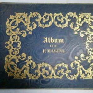 Album de F. Masini dessins lithographiés Deveria