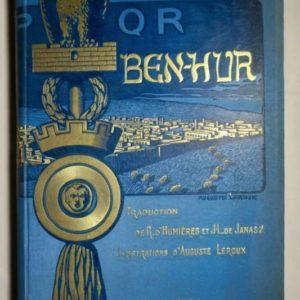 Ben-Hur, le prince de Jérusalem Illustrations d'Auguste Leroux