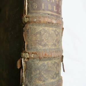 La Sainte Bible 1714  Maitre de Saci in folio